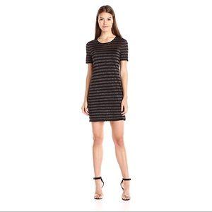 Trina Turk Striped Glitter Dress